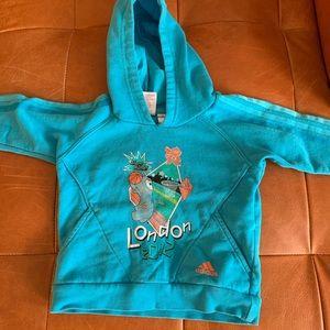 Adidas London 2012 hoodie / 1-2 t